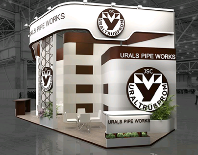 """Ural Pipe Works"" exhibition stand"