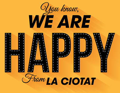 HAPPY FROM LA CIOTAT - TRIBUTE TO PHARELL WILLIAMS
