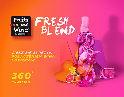 Fruits&Wine concept 360 launching campaign