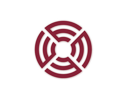 Letter E Circular Monogram Logo