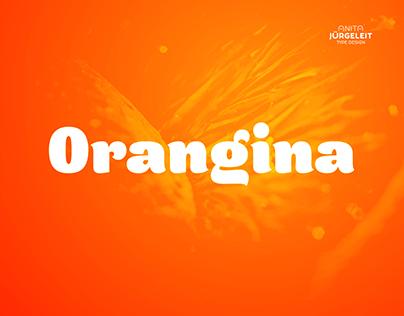 Orangina Chubby Summer Typeface