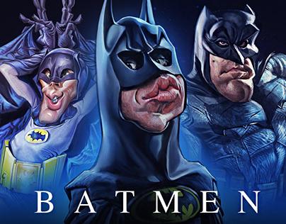 The Batman Evolution
