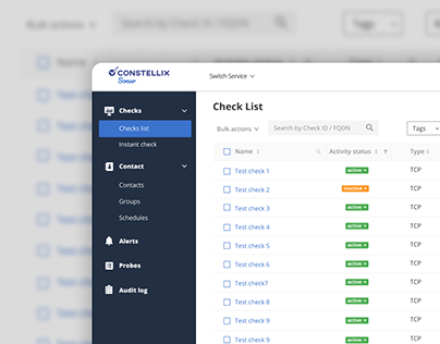 Admin Panel for DNS Management
