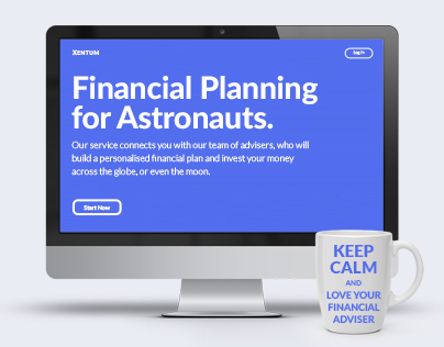 Financial Adviser Platform // WebApp
