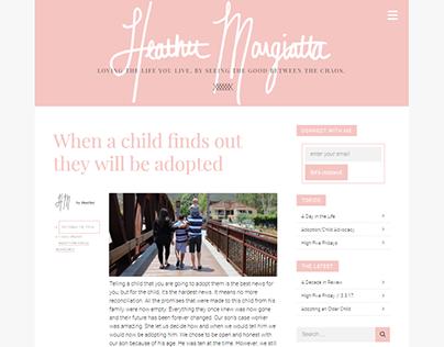 Heather Margiotta Website/Blog
