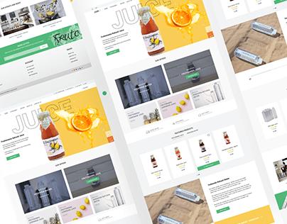 Juice & Water Website