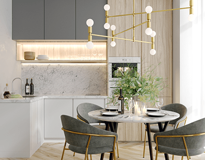 Design project of an apartment, Moscow