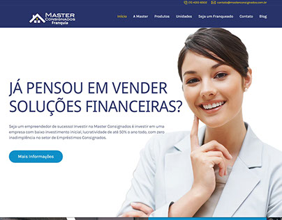 Website Master Consignados