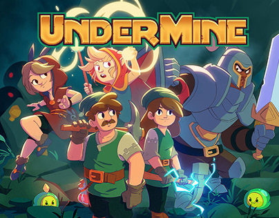 UnderMine Key Art