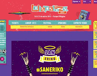#SanEriko | Lollapalooza Chile 2015