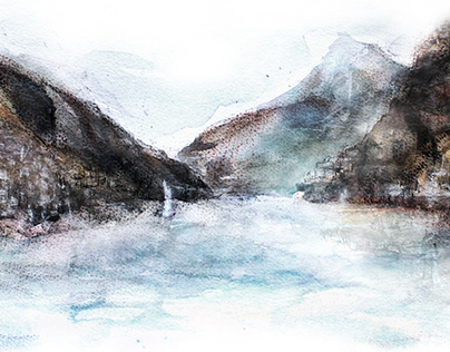 Lake Lugano Landscape Series