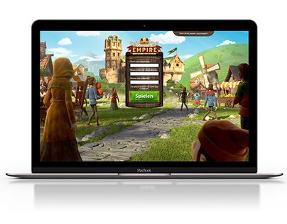 Goodgame Studios - Goodgame Empire - Landingpages