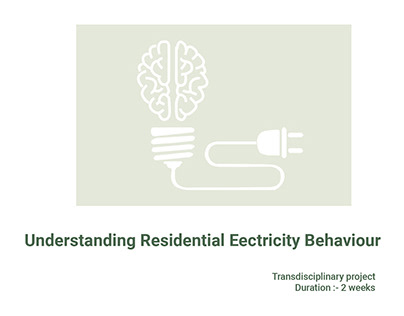 Residential Electricity Behavior-Quantitative Research