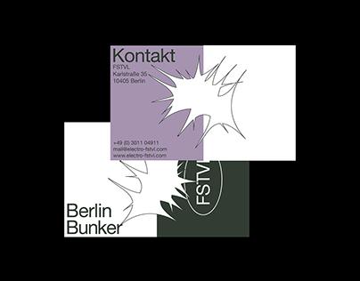 festival identity — corporate design, logo