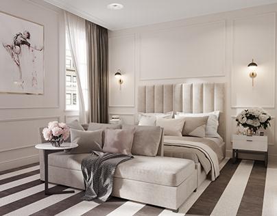 otel room design- Hotel Balkan - Belgrade - Time studio