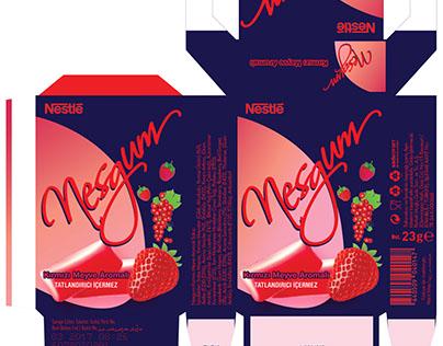 Sakız Ambalaj Tasarımı / Chewing Gum Packaging Design