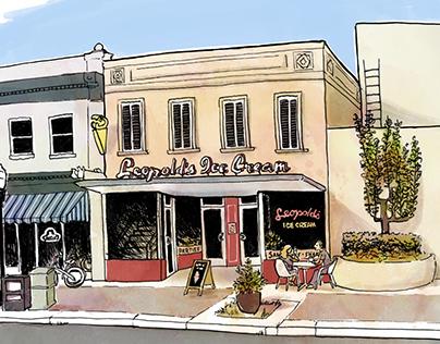 Leopold's Ice Cream, Savannah
