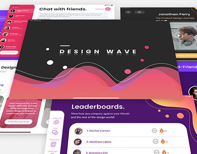 Design Wave App | 2020 Adobe Creative Jam