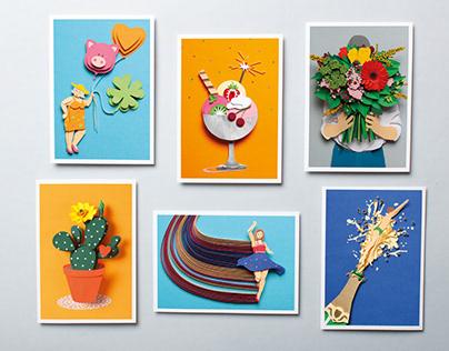 Papercraft Postcards