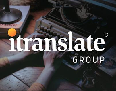Redesigning itranslate logo