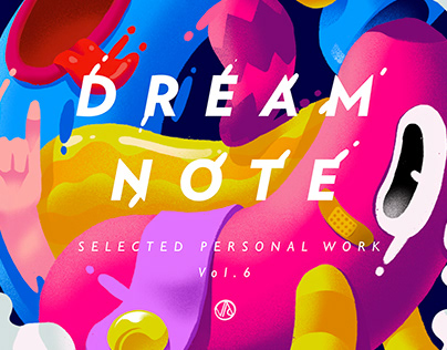 """""""dream note"""" selected personal work vol.6"""