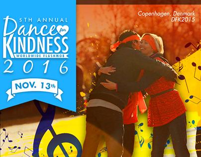 Dance for Kindness social media branded posts