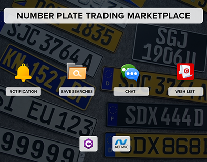 Number Plate Trading Marketplace for Australian Client