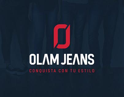 OLAM JEANS - Diseño de Marca