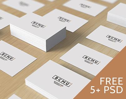Business Card Mockups v3