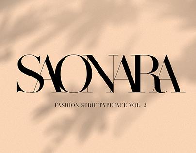 MADE SAONARA | Font