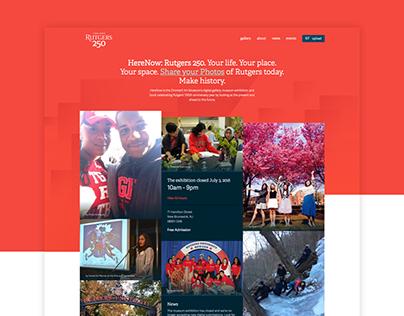 HereNow: Rutgers 250