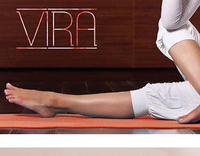 VIRA Yoga Identity - 2015