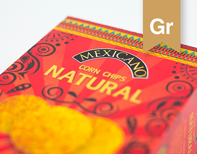 Mexicano Corn Chips Package Redesign