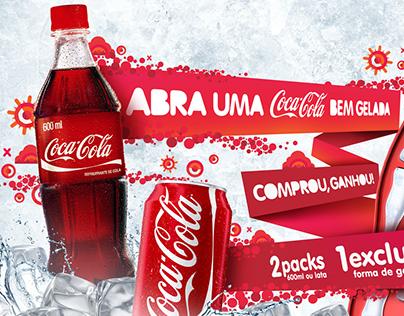 Key visual Promoções | Coca Cola