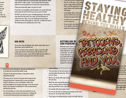 CATIE - Staying Healthy Behind the Walls Brochures