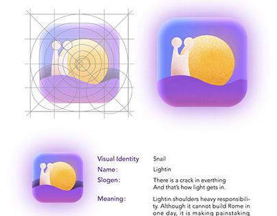 Logo, IOS app icon design - Lightin