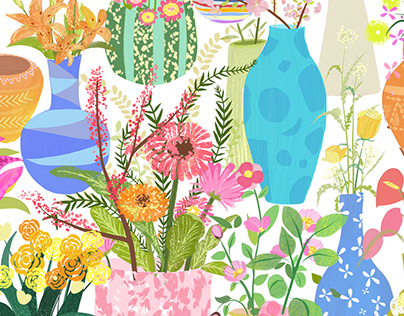 """Pretty Seed"" illustration"