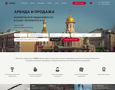 Дизайн сайта-агрегатора недвижимости