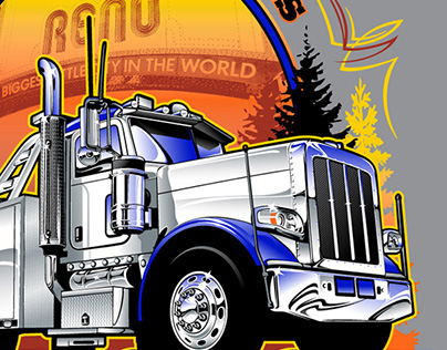 Western States Tow Show T-Shirt Artwork