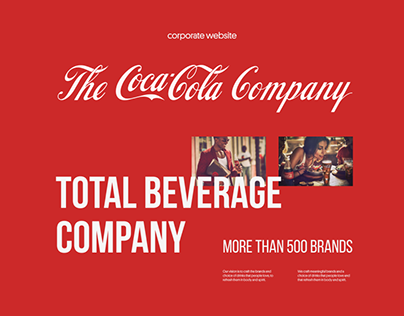Coca-Cola Company — Corporate website
