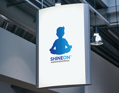 ShineOn Mindfulness logo design
