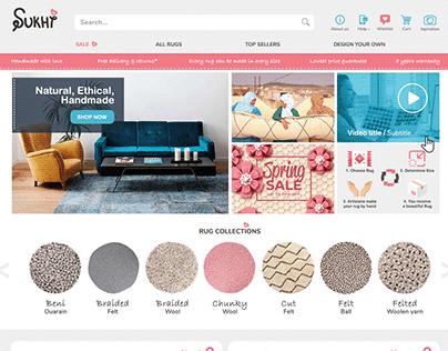 Website for Rug Company