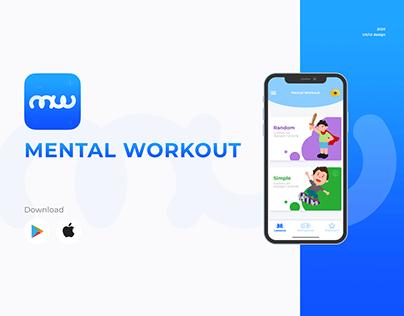 "UX/UI for app mobile ""Mental Workout"""