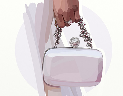 Accessories: fashion illustrations