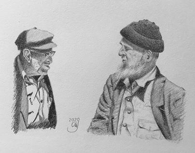 Pencil Drawing Dialogue