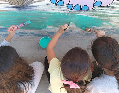 Proyecto Murales comunitarios para la Primera Infancia