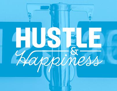 Hustle & Happiness / Workshop Event Branding