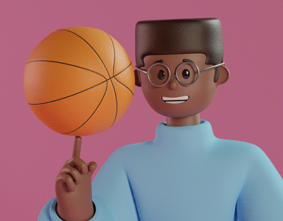 CELO - Personagem 3D