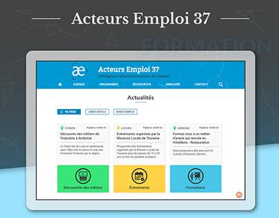 Acteurs Emploi 37