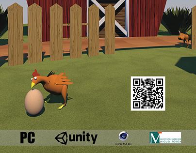 Revenge of the Chicken - 3D Game